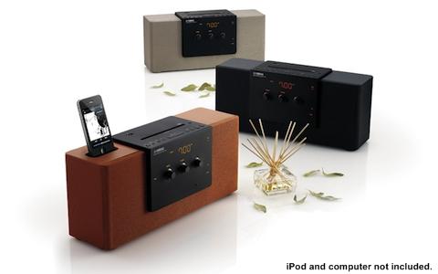 Yamaha TSX-140 เครื่องเสียงดีไซน์เฉียบสำหรับบ้านคุณ iPod iPhone Docking FM AM CD USB Desktop Audio System